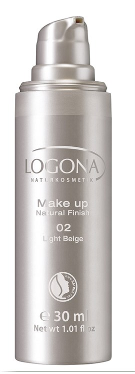 Logona Fondöten Natural Finish 30 ml Açık Bej 02