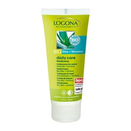 Logona Organik Daily Care Aloe ve Mine Çiçeği Özlü El Kremi 100 ml